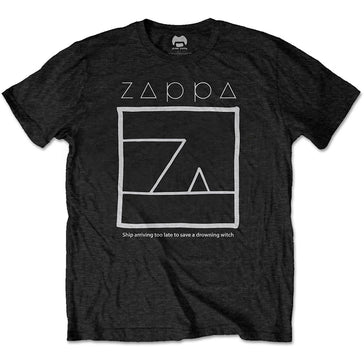 Frank Zappa - Drowning Witch - Black t-shirt