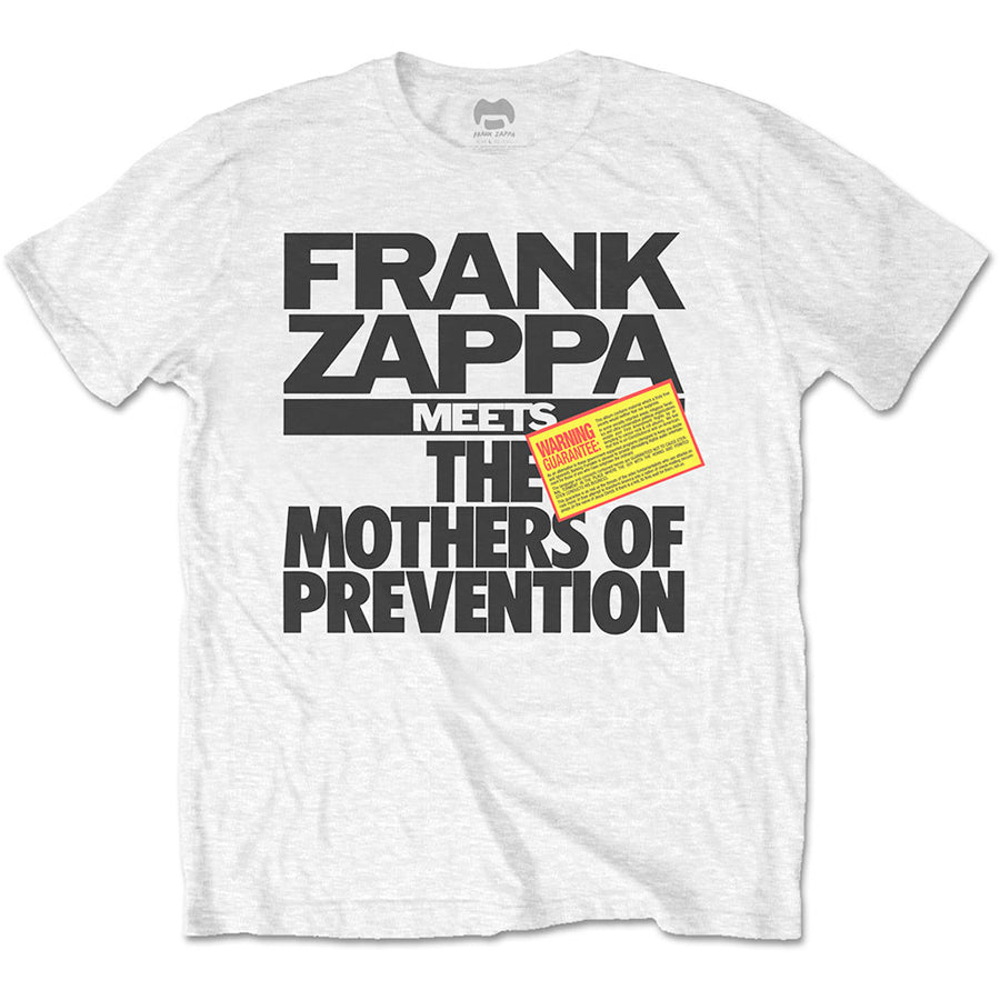 Frank Zappa - The Mothers Of Prevention - White t-shirt