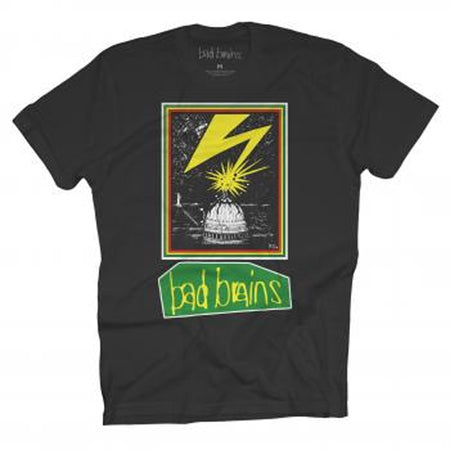 Bad Brains 89 Tour-Black T-shirt