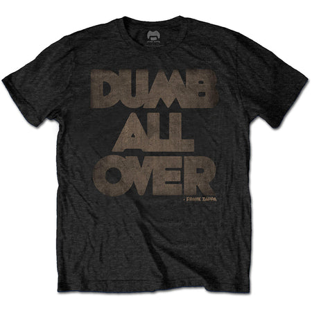 Frank Zappa - Dumb All Over - Black t-shirt