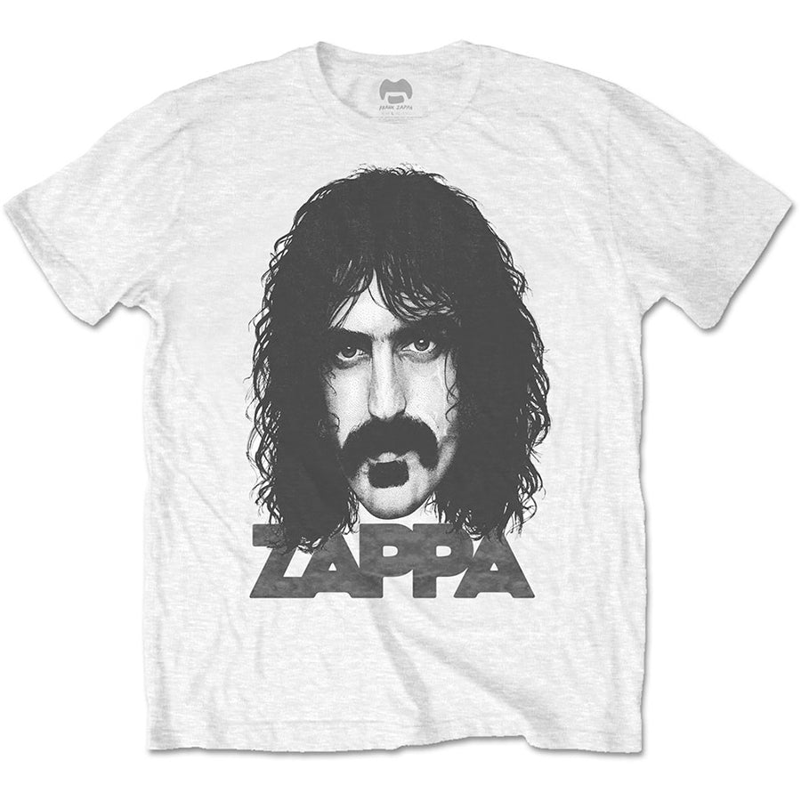 Frank Zappa - Big Face - White t-shirt