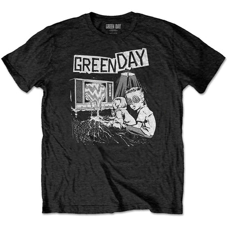 Green Day. - Wasteland - Black  T-shirt