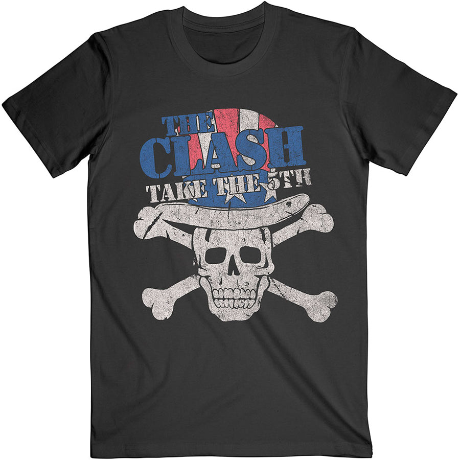 The Clash - Take The 5th - Black t-shirt