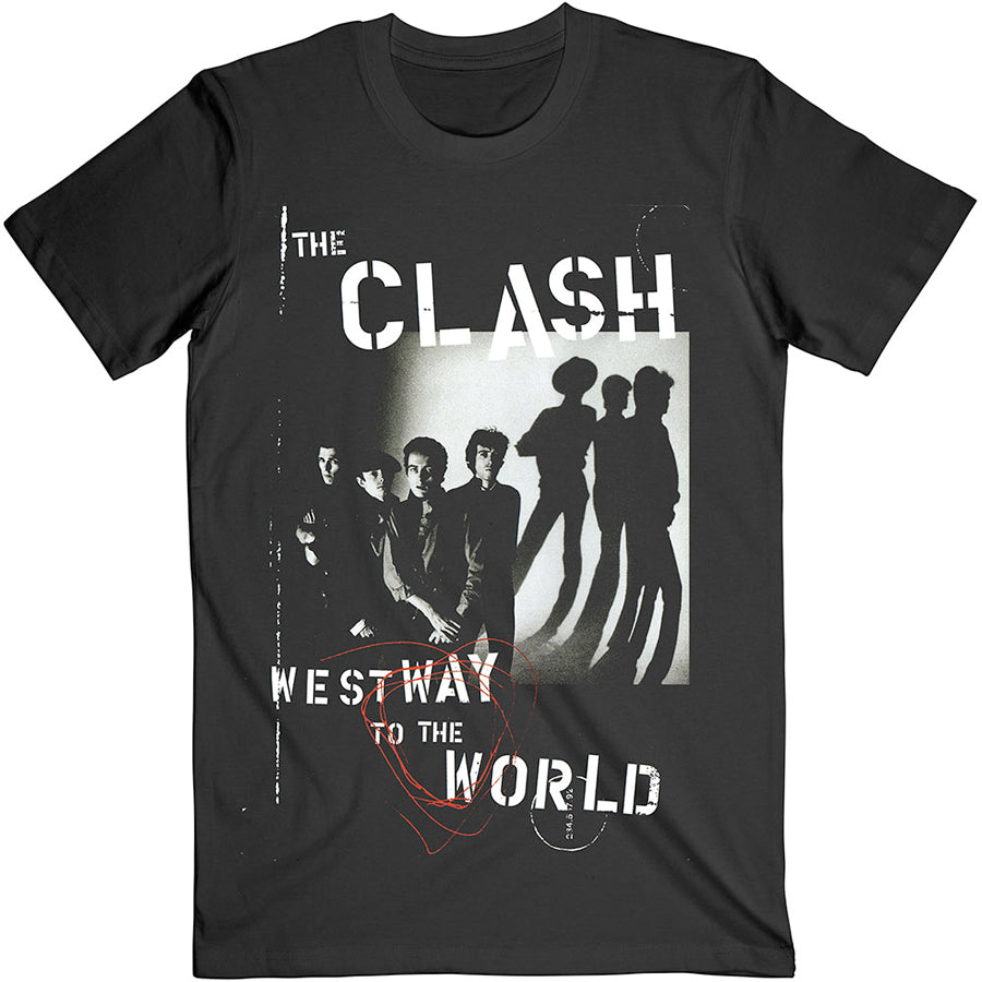 The Clash - Westway To The World - Black t-shirt