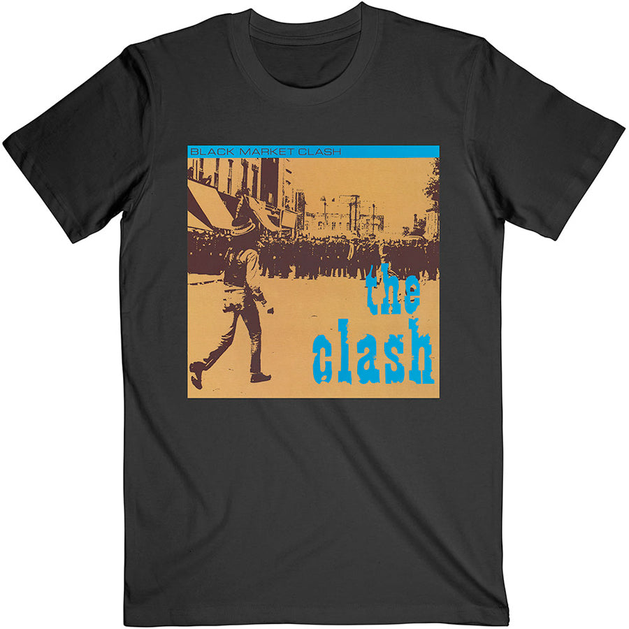 The Clash - Black Market - Black t-shirt