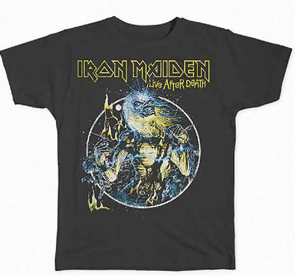 Iron Maiden - Live After Death - Black T-shirt
