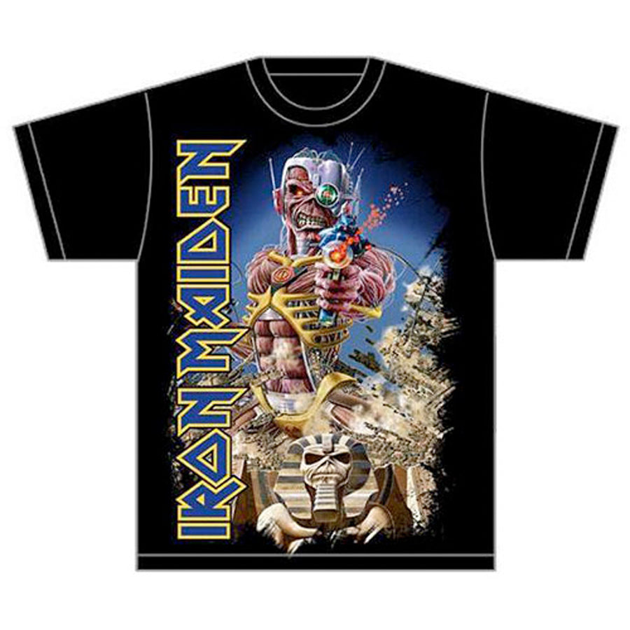 Iron Maiden - Somewhere Back In Time - Black T-shirt
