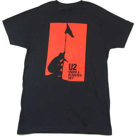 U2 - Blood Red Sky - Black T-shirt