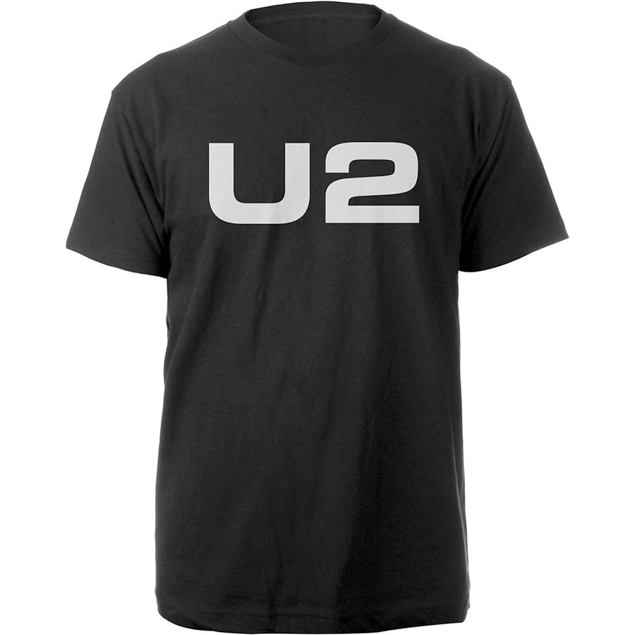 U2 - Logo - Black T-shirt