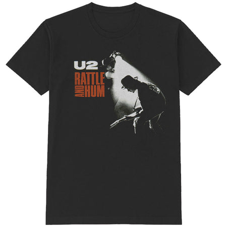 U2 - Rattle & Hum - Black T-shirt