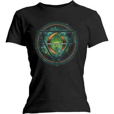 A Perfect Circle - Sigil - Girl's Junior  Black T-shirt