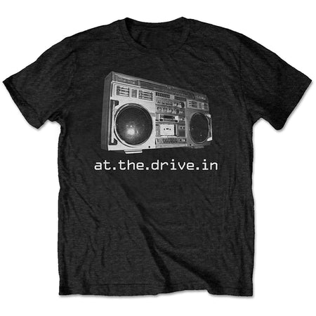 At The Drive-In - Boombox - Black T-shirt