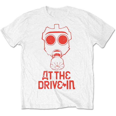 At The Drive-In - Mask - White T-shirt