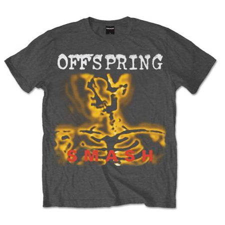 Offspring - Smash 20 - Charcoal Grey T-shirt