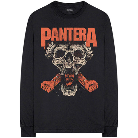 Pantera - Mouth For War - Long sleeved - Black T-shirt