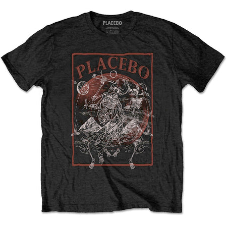 Placebo - Skeletons - Black T-shirt