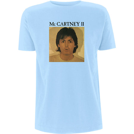 Paul McCartney - McCartney II - Light Blue T-shirt