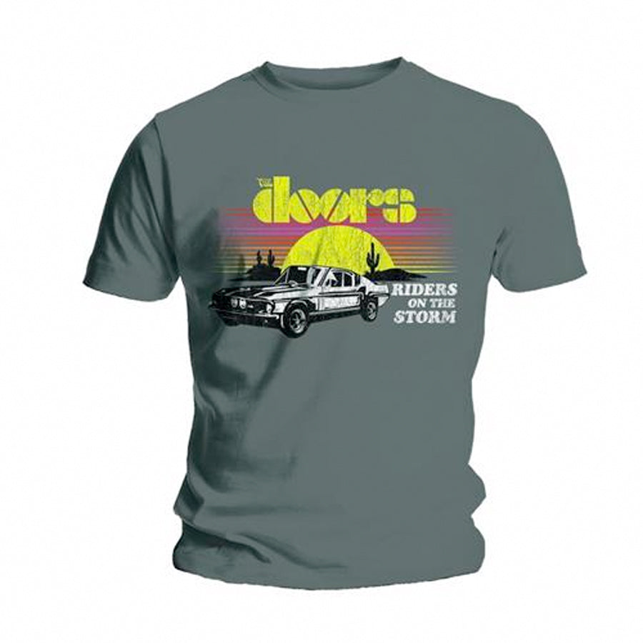 The Doors - Riders On The Storm - Grey t-shirt