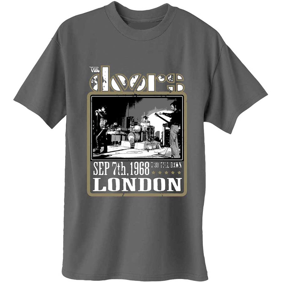 The Doors - Roadhouse London - Charcoal Grey t-shirt