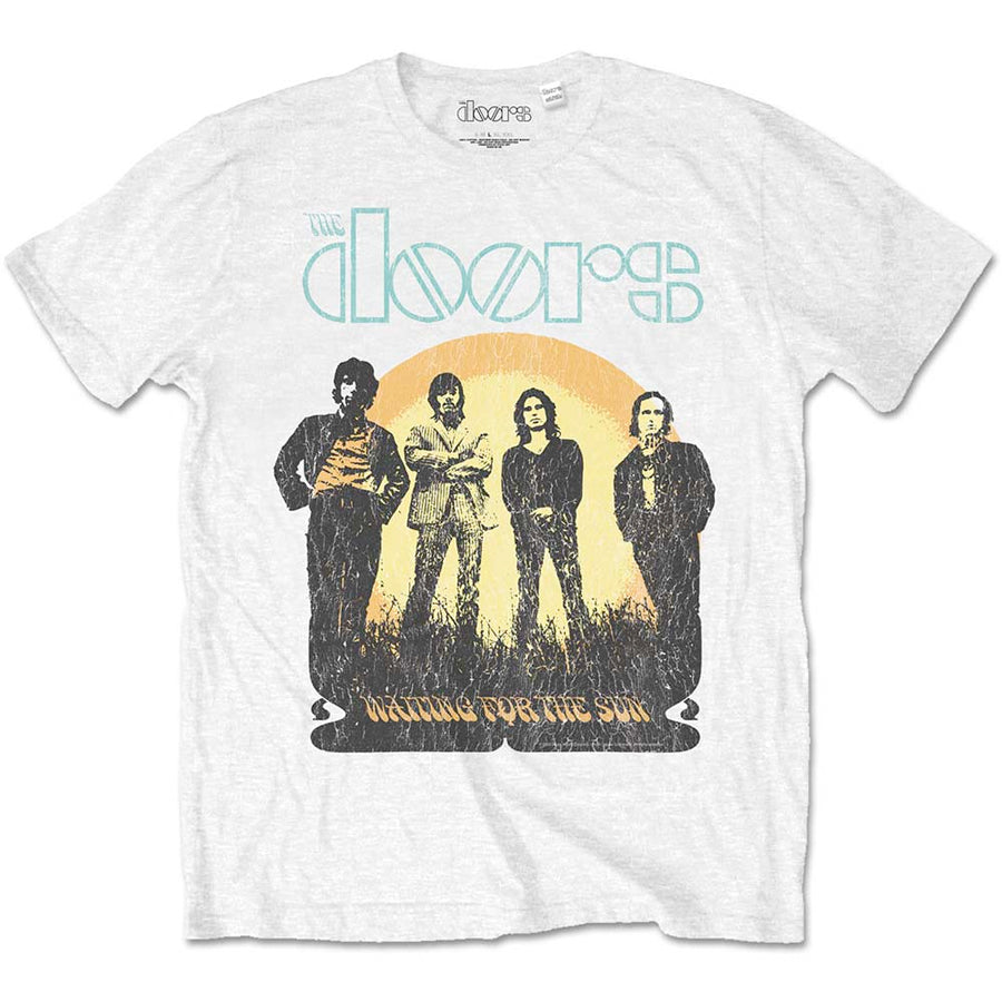 The Doors - Waiting For The Sun - White t-shirt