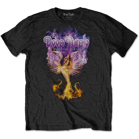 Deep Purple - Phoenix Rising - Black T-shirt