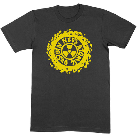 Ned's Atomic Dustbin - Classic Logo - Black  t-shirt