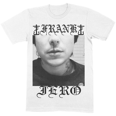 Frank Iero - Nose Bleed - White  t-shirt