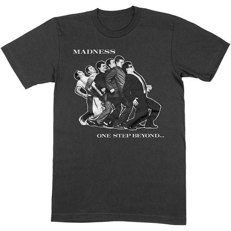 Madness - One Step Beyond - Black t-shirt