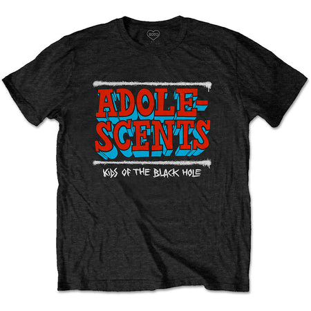 The Adolescents - Kids Of The Black Hole - Black t-shirt