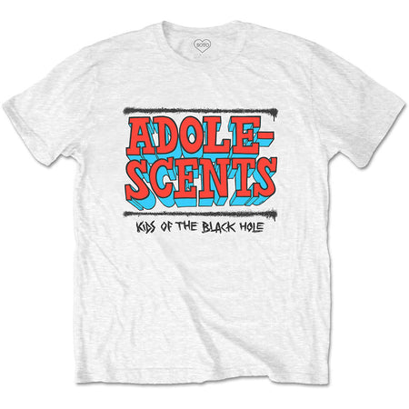 The Adolescents - Kids Of The Black Hole - White t-shirt