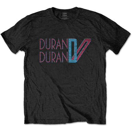 Duran Duran - Double D Logo - Black t-shirt