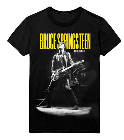Bruce Springsteen - Winterland Ballroom Guitar - Black T-shirt