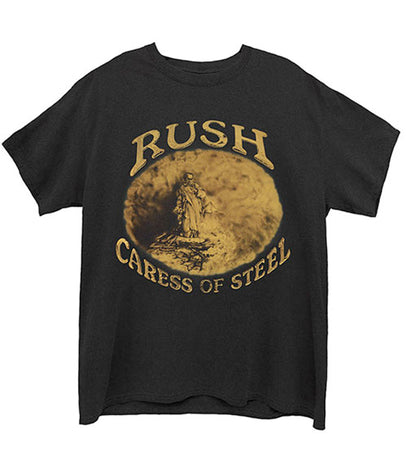Rush - Caress Of Steel - Black  T-shirt