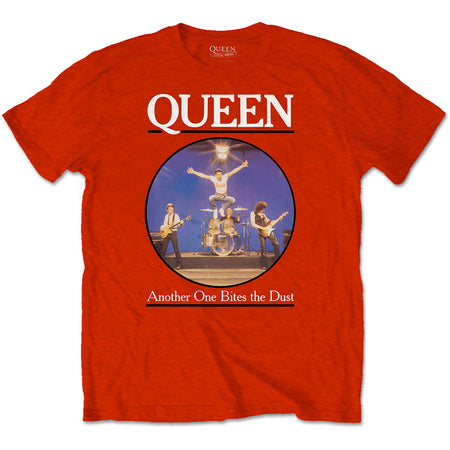 Queen - Another One Bites The Dust - Red  t-shirt