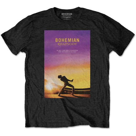 Queen - Bohemian Rhapsody - Black  t-shirt