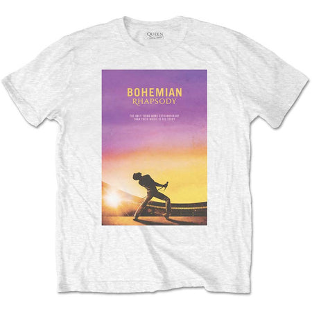 Queen - Bohemian Rhapsody - White  t-shirt