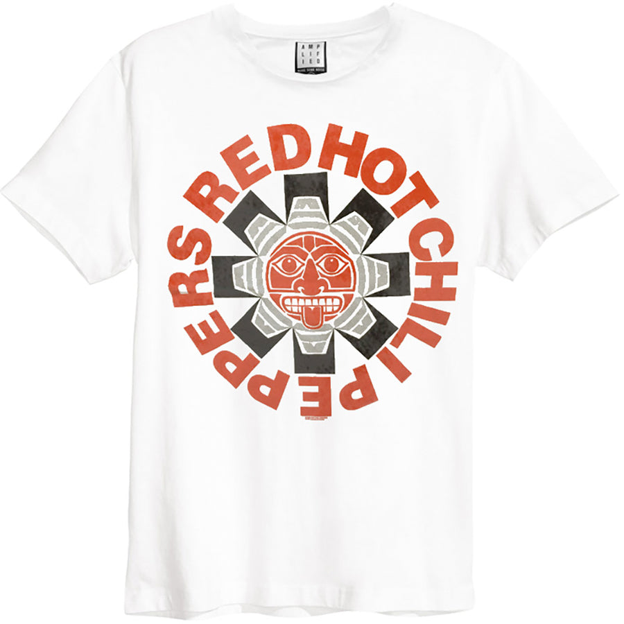 Red Hot Chili Peppers - Aztec - White  t-shirt