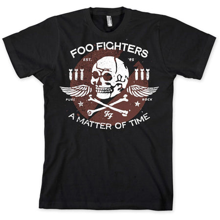 Foo Fighters - Matter Of Time - Black T-shirt
