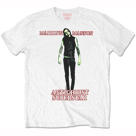 Marilyn Manson - Antichrist - White t-shirt