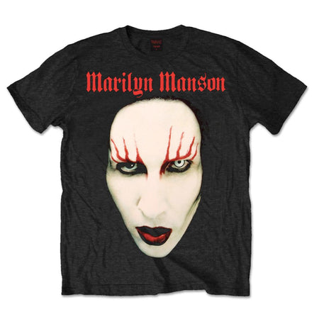 Marilyn Manson - Red Lips - Black t-shirt