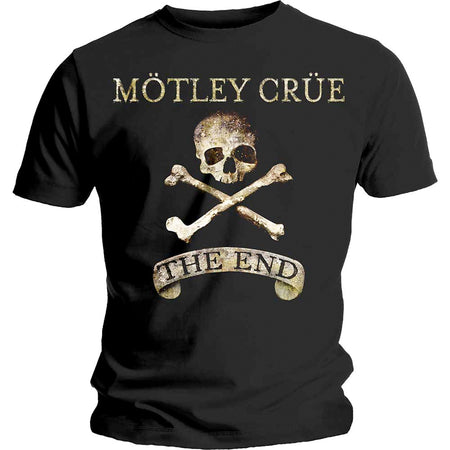 Motley Crue - The End - Black t-shirt