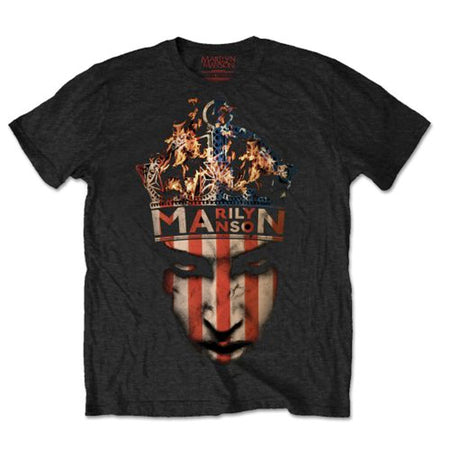 Marilyn Manson - Crown - Black t-shirt