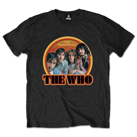 The Who - 1969 Pinball Wizard - Black t-shirt