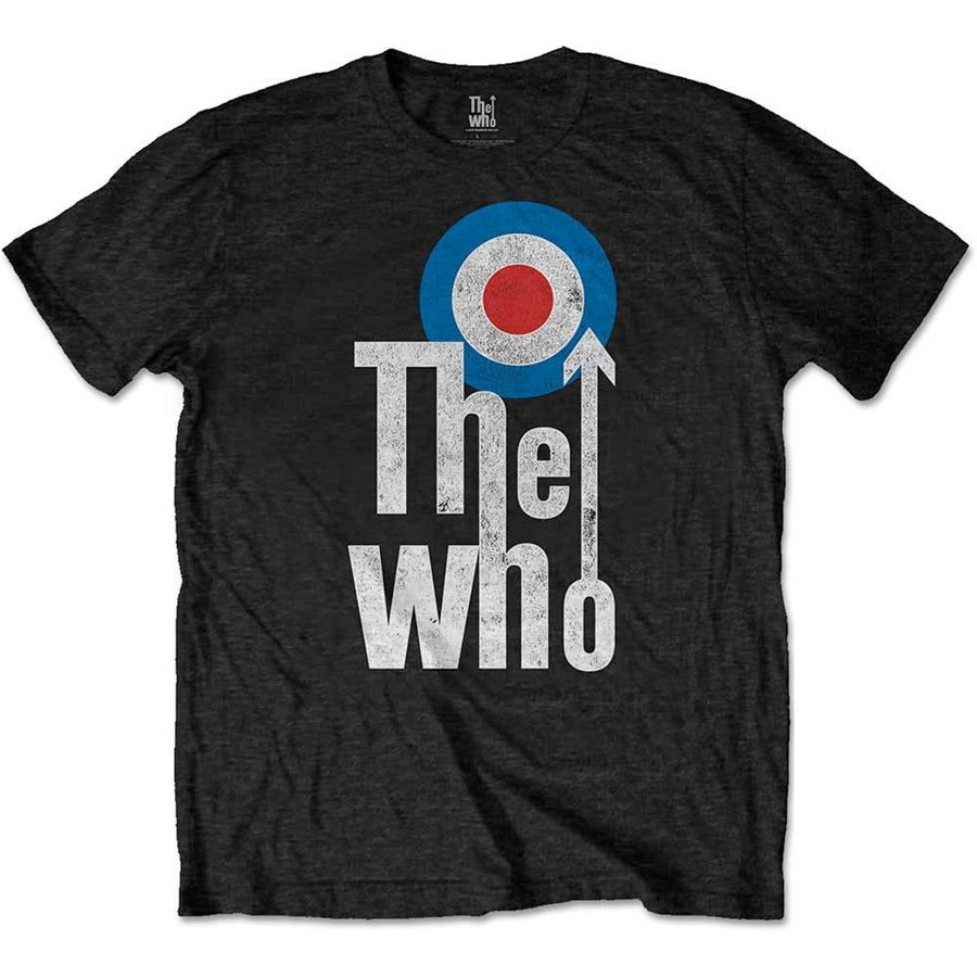 The Who - Elevated Target - Black t-shirt