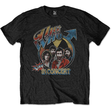 The Who - Live In Concert - Black t-shirt