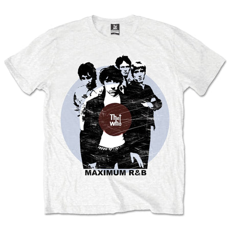 The Who - Maximum R&B - White t-shirt