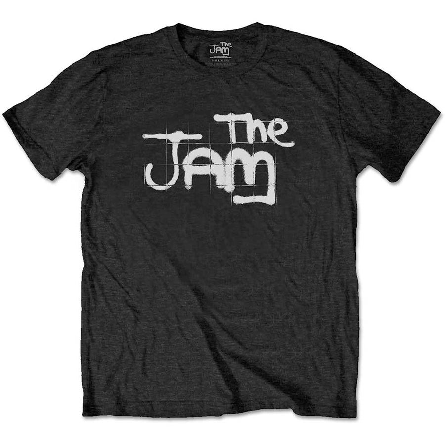 The Jam - Spray Logo - Black t-shirt