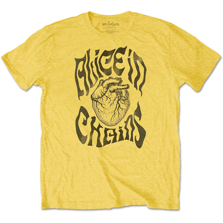Alice In Chains - Transplant - Yellow T-shirt