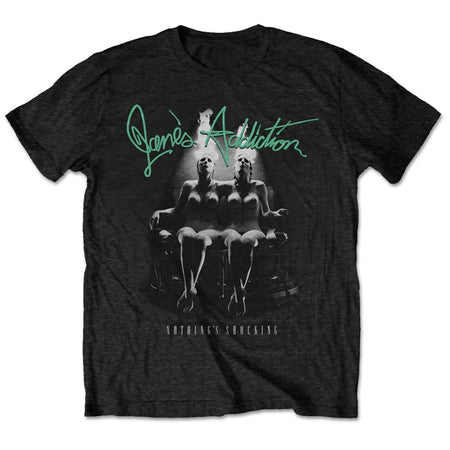 Jane's Addiction-Nothing's Shocking - Black t-shirt