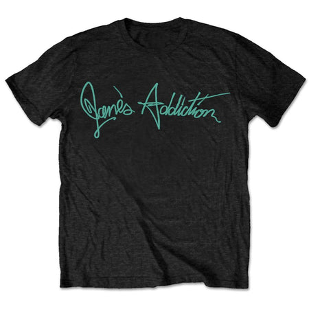 Jane's Addiction-Script Logo - Black t-shirt